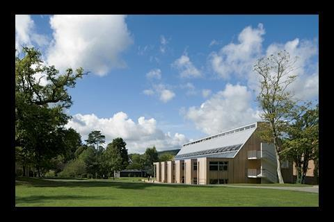 The £4.6m orchard development at Bedales school in Hampshire